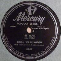 Cover Dinah Washington - I'll Wait