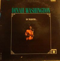 Cover Dinah Washington - In Tribute