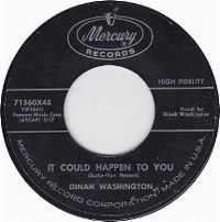 Cover Dinah Washington - It Could Happen To You