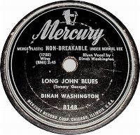 Cover Dinah Washington - Long John Blues