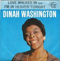 Cover Dinah Washington - Love Walked In
