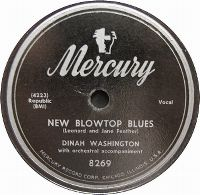 Cover Dinah Washington - New Blow Top Blues