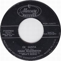 Cover Dinah Washington - Ole Santa
