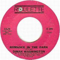 Cover Dinah Washington - Romance In The Dark