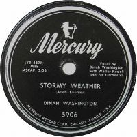 Cover Dinah Washington - Stormy Weather