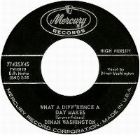 Cover Dinah Washington - What A Diff'rence A Day Makes