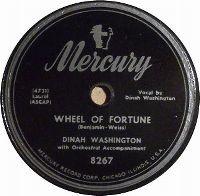 Cover Dinah Washington - Wheel Of Fortune