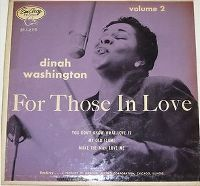 Cover Dinah Washington - You Don't Know What Love Is