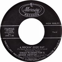Cover Dinah Washington & Brook Benton - A Rockin' Good Way (To Mess Around And Fall In Love)