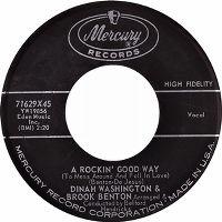 Cover Dinah Washington & Brook Benton - A Rockin' Good Way (To Mess Around And Fall In Love)
