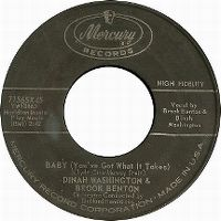 Cover Dinah Washington & Brook Benton - Baby (You've Got What It Takes)