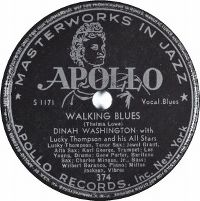 Cover Dinah Washington with Lucky Thompson and his All Stars - Walking Blues