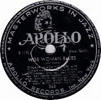 Cover Dinah Washington with Lucky Thompson and His All Stars - Wise Woman Blues