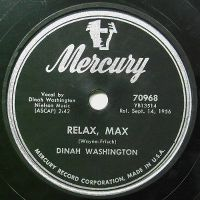 Cover Dinah Washington with Quincy Jones And His Orchestra - Relax Max
