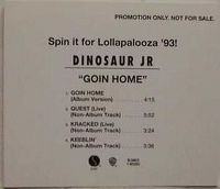 Cover Dinosaur Jr. - Goin'Home