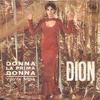 Cover Dion - Donna la prima donna