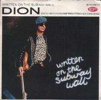 Cover Dion - Written On The Subway Wall