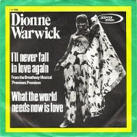 Cover Dionne Warwick - I'll Never Fall In Love Again