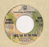 Cover Dionne Warwick - Once You Hit The Road