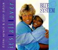Cover Dionne Warwick & Dieter Bohlen - It's All Over