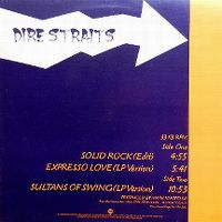 Cover Dire Straits - Solid Rock
