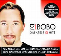Cover DJ BoBo - Greatest Hits