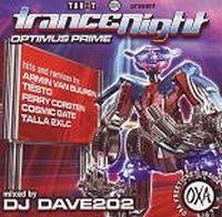 Cover DJ Dave202 - Trance Night - Optimus Prime