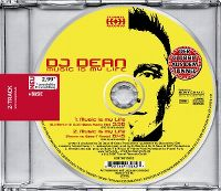 Cover DJ Dean - Music Is My Life