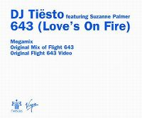 Cover DJ Tiësto feat. Suzanne Palmer - 643 (Love's On Fire)