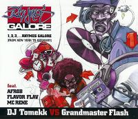 Cover DJ Tomekk vs. Grandmaster Flash feat. Afrob, Flavor Flav & MC Rene - 1, 2, 3, ... Rhymes Galore (From New York To Germany)