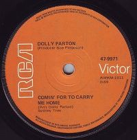 Cover Dolly Parton - Comin' For To Carry Me Home