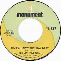 Cover Dolly Parton - Happy, Happy Birthday Baby