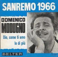 Cover Domenico Modugno - Dio, come ti amo (Ich lieb' dich immer mehr)