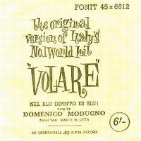 Cover Domenico Modugno - Nel blu dipinto di blu