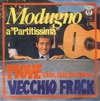Cover Domenico Modugno - Piove (ciao ciao bambina)
