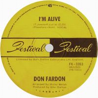 Cover Don Fardon - I'm Alive