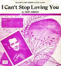 Cover Don Gibson - I Can't Stop Loving You
