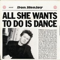 Cover Don Henley - All She Wants To Do Is Dance