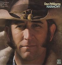 Cover Don Williams - Harmony