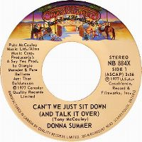 Cover Donna Summer - Can't We Just Sit Down (And Talk It Over)