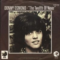 Cover Donny Osmond - The Twelfth Of Never