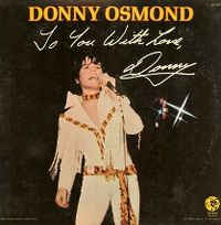 Cover Donny Osmond - To You With Love, Donny