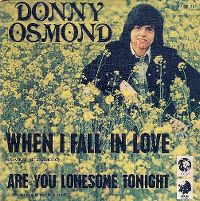 Cover Donny Osmond - When I Fall In Love