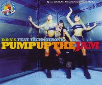 Cover D.O.N.S. feat. Technotronic - Pump Up The Jam
