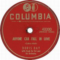 Cover Doris Day - Anyone Can Fall In Love