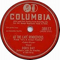 Cover Doris Day - At The Cafe Rendezvous
