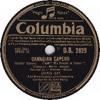 Cover Doris Day - Canadian Capers (Cuttin' Capers)