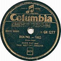 Cover Doris Day - Domino
