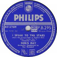 Cover Doris Day - I Speak To The Stars