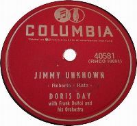 Cover Doris Day - Jimmy Unknown